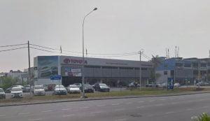 Toyota Jalan Rahang